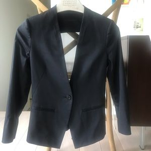 All Saints x Blazer with back piece detail